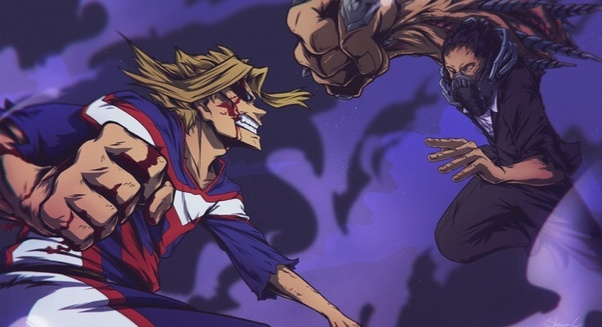 Was All Might vs All For One the best fight in anime history? - Quora