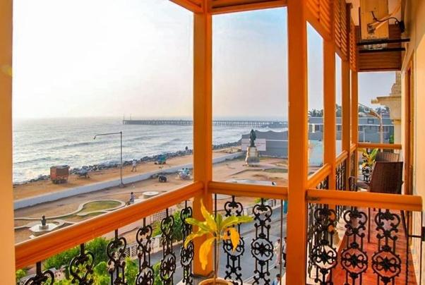 Beachside Resort In Pondicherry