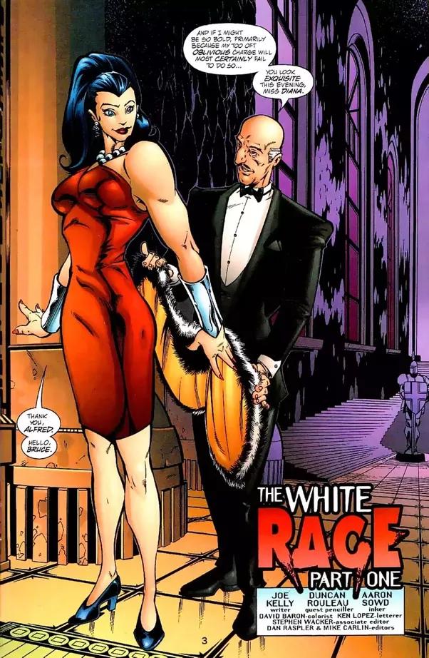 Do batman and wonder woman hook up