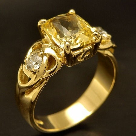 I Wear Pukhraj Stone Yellow Sapphire On A Silver Ring Is