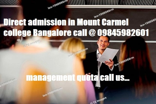 What Should I Know About Mount Carmel College Bangalore