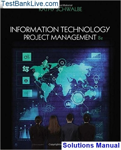 Information technology project management 8th edition solutions p.