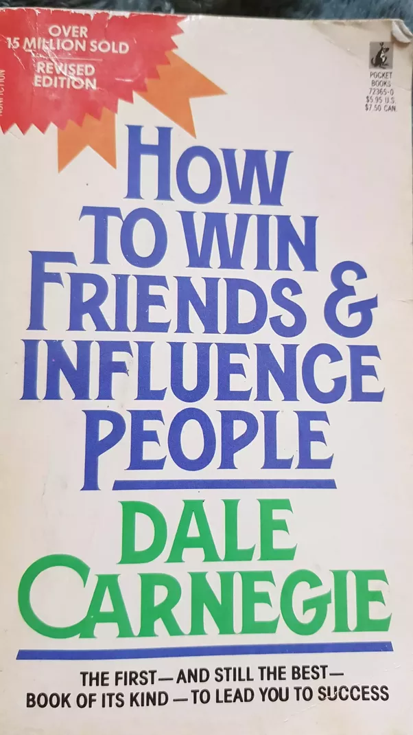 a book analysis of how to win friends and influence people by dale carnegie Learn how to apply the main ideas and principles from how to win friends and influence people in a quick, easy listen originally published in 1936, how to win friends and influence people is one of the greatest self-help books of all time written by dale carnegie, the book contains the fundamental.