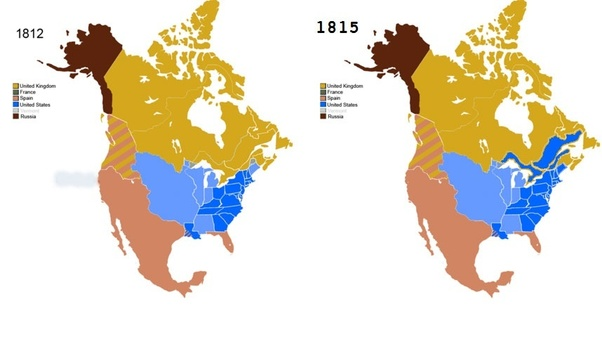 What Would Have Happened If The Invasion Of Canada During The War Of - Us-map-1812