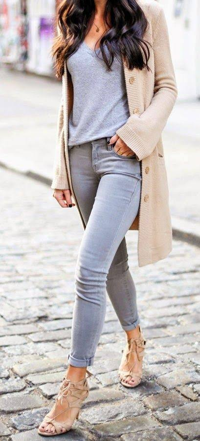 How to Match Light Jeans