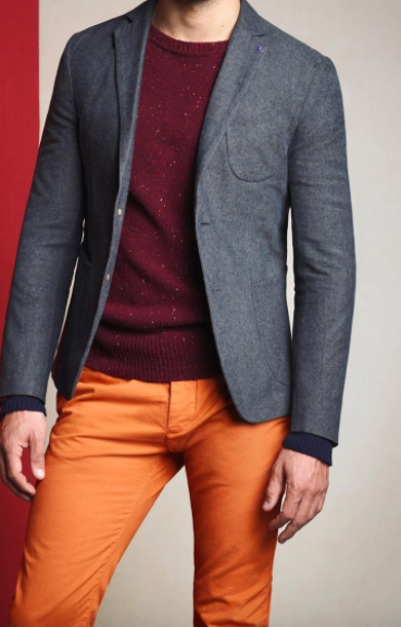 three different shirts that can match an orange pant  quora