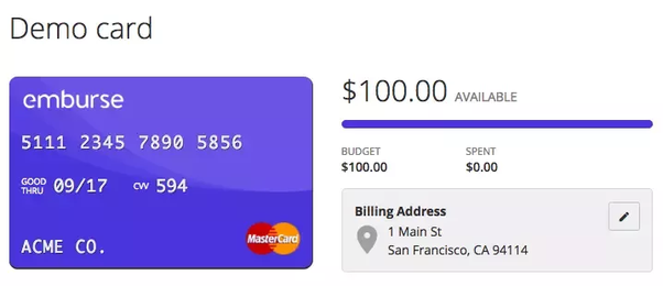 Is there an API/Service that generates virtual credit card numbers