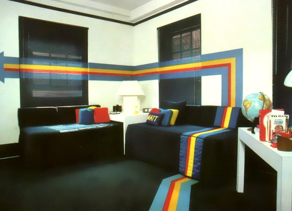 It All Depends On How Much Time You Want To Spend And What Your Budget Is.  These 1980s Interiors Should At Least Give You Some Inspiration For A Pop  Art ...