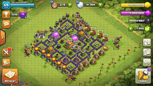 What Is The Best Army For Th7 In Coc Quora