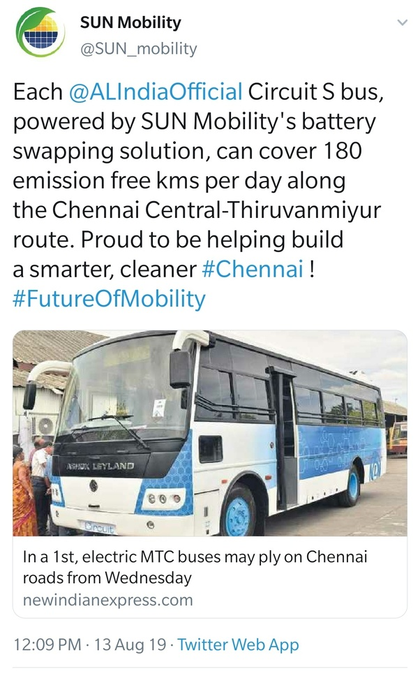 Will India have electric buses in its states? - Quora