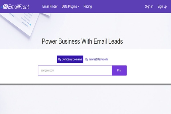 What is the best-paid email finder software platform website
