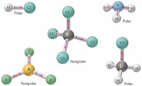 How Can A Molecule With Non Polar Bonds Be Polar Quora