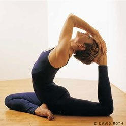 why is the pigeon pose is called the pigeon pose in yoga