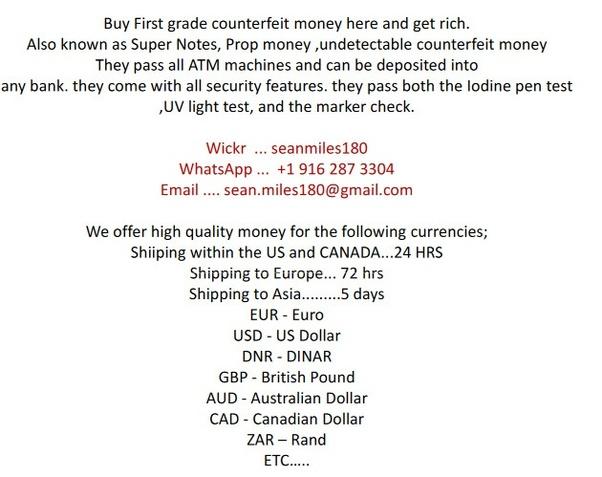 Qui est un bon contact pour la fausse monnaie?