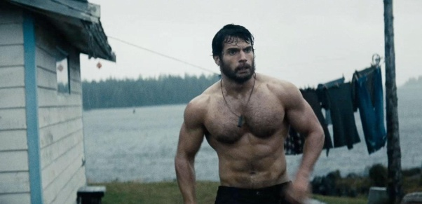 Who is more muscularly built between Henry Cavill as ...