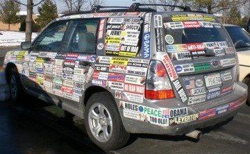 Do bumper stickers damage car paint? - Quora