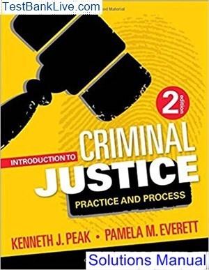 Criminal justice the essentials pdf