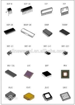What is the difference between an IC package dip, an SMD