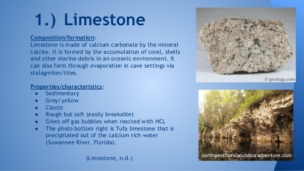 Why Is Limestone Always Formed Under The Sea Quora