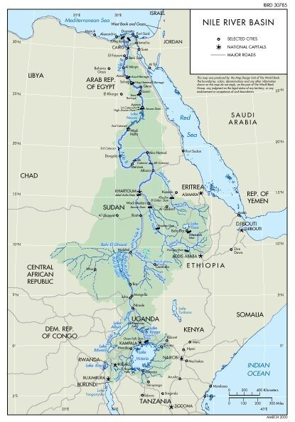 What Is The Longest River In The World Quora - African rivers by length