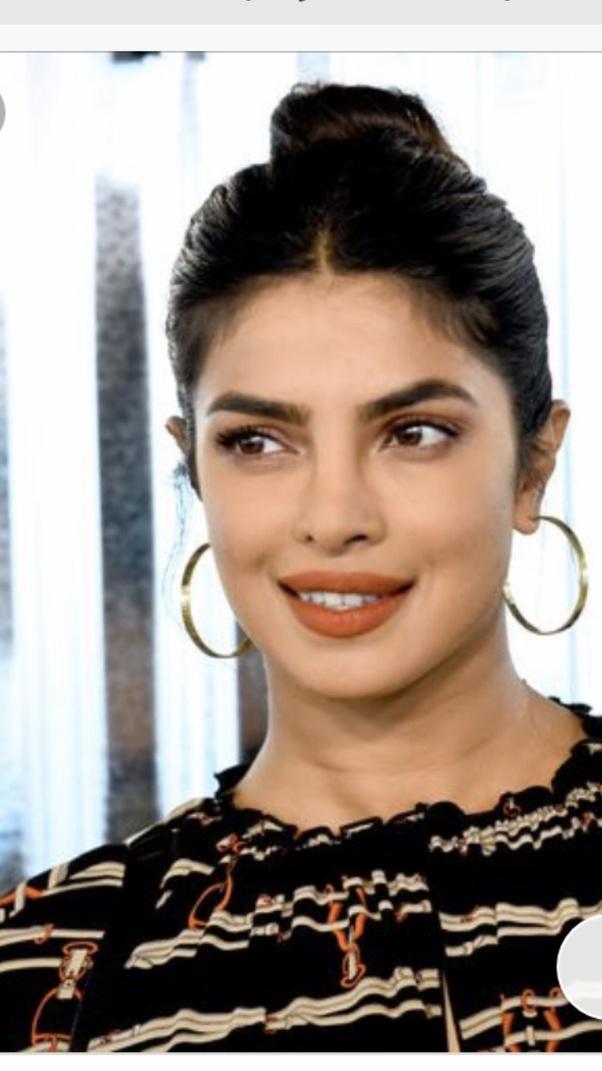 How has Priyanka Chopra changed her lips? - Quora