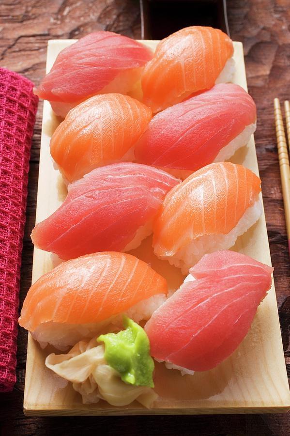 What types of sushi or sashimi are considered Kosher? - Quora