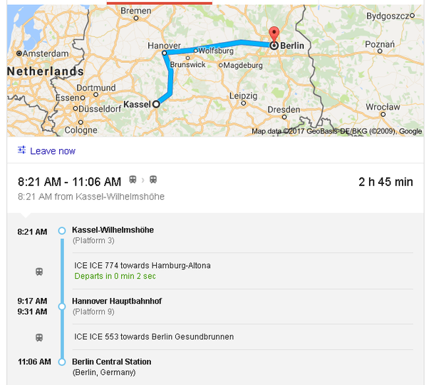 How to travel from Kassel to Berlin Quora