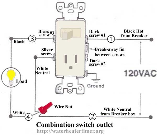 How To Wire A Light Switch And Outlet In The Same Box