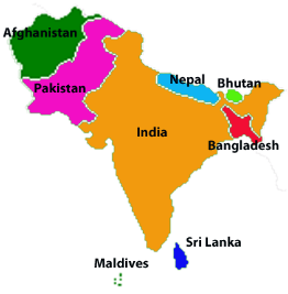 What Is Your Favourite South Asian Country And Why Quora - South asia political map