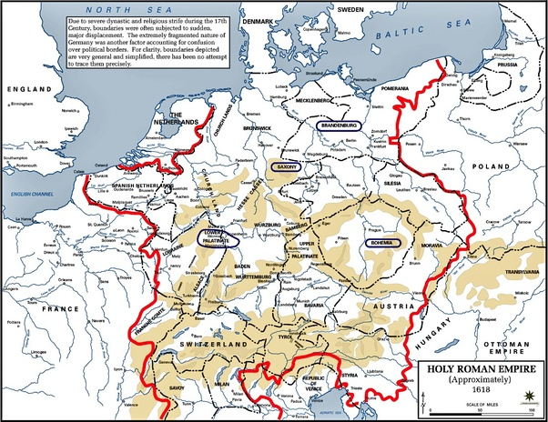 Holy Roman Empire Map 1000.Did The Holy Roman Empire Have Its Own Military Quora