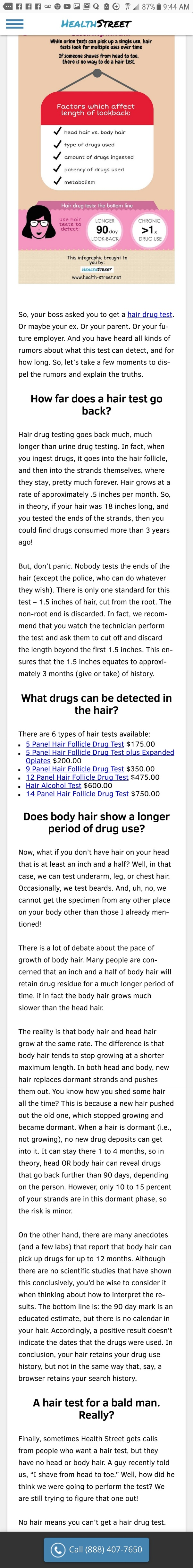 How to pass a hair follicle test for meth - Quora