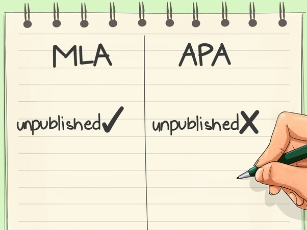 what are the key differences between mla and apa format quora