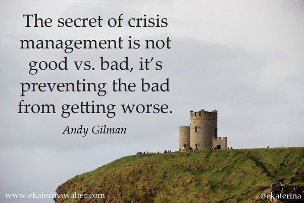 What Are Some Quotes About Disaster Management Quora