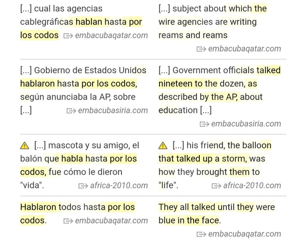 what does hablar mean in spanish