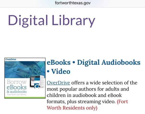 Can you use a library card to listen to audiobooks on your