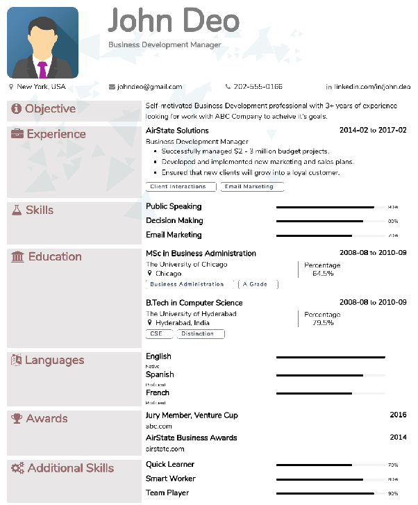 where can one find some good résumé cv templates quora