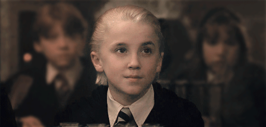 You're moved to the Harry Potter universe. Draco Malfoy ...