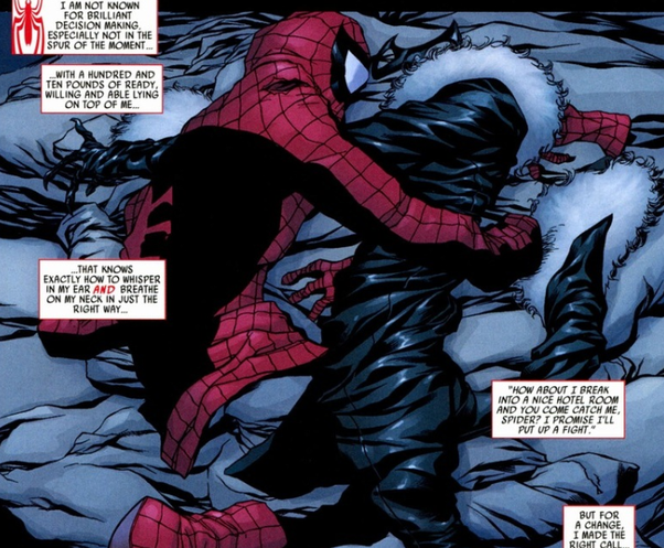 Why do people like Spider Man and Black Cat as a couple ... Spiderman And Blackcat