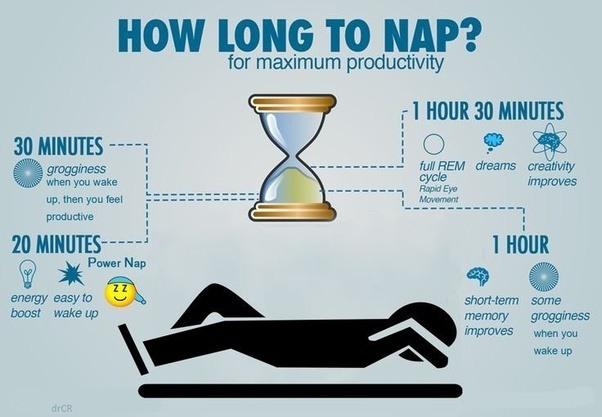 20 minute naps