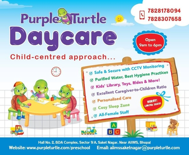 When It Comes To Day Care Parents Want >> I Live Near M P Nagar In Bhopal Which Is Best Daycare Nearby Quora