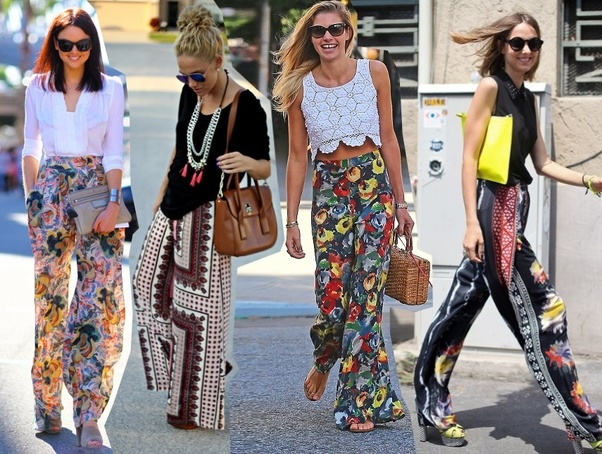 38c201e062 But often we wonder what kind of tops to team with palazzo pant to look  good. If you ask me