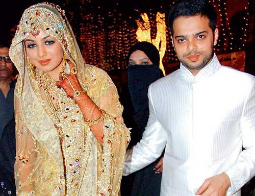 Before Wedding Farhan In An Ic Nikah Function Spite Of The Fact That She Never Freely Reported Her Transformation However Media Sources Have