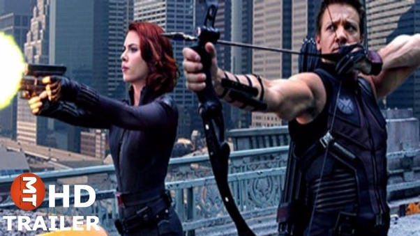 What Makes Black Widow And Hawkeye Both Human Without