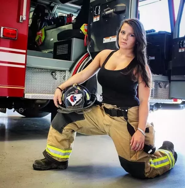 from Ares firefighter with hot naked girl