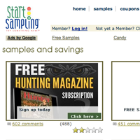 Good free sample websites