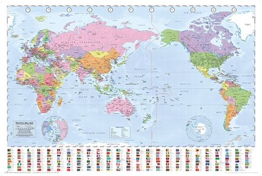 Where Is New Zealand In World Map.Why Is New Zealand Missing From So Many Maps Quora