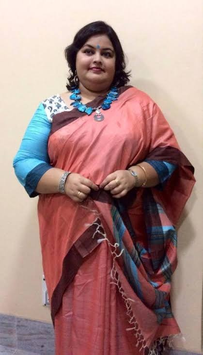 bf630757a5e ... type of saree except cotton because my friend tried cotton who is  already fat and after wearing it she looked more fatter..So now she wears  georgette ...
