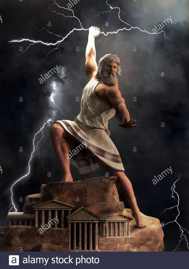 Why Did Zeus Need To Have The Lightning Bolt Made For Him If He Is A God Who Can Control Weather Quora