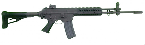 Is there an assault rifle that's a balance of the AK and the M16 ...