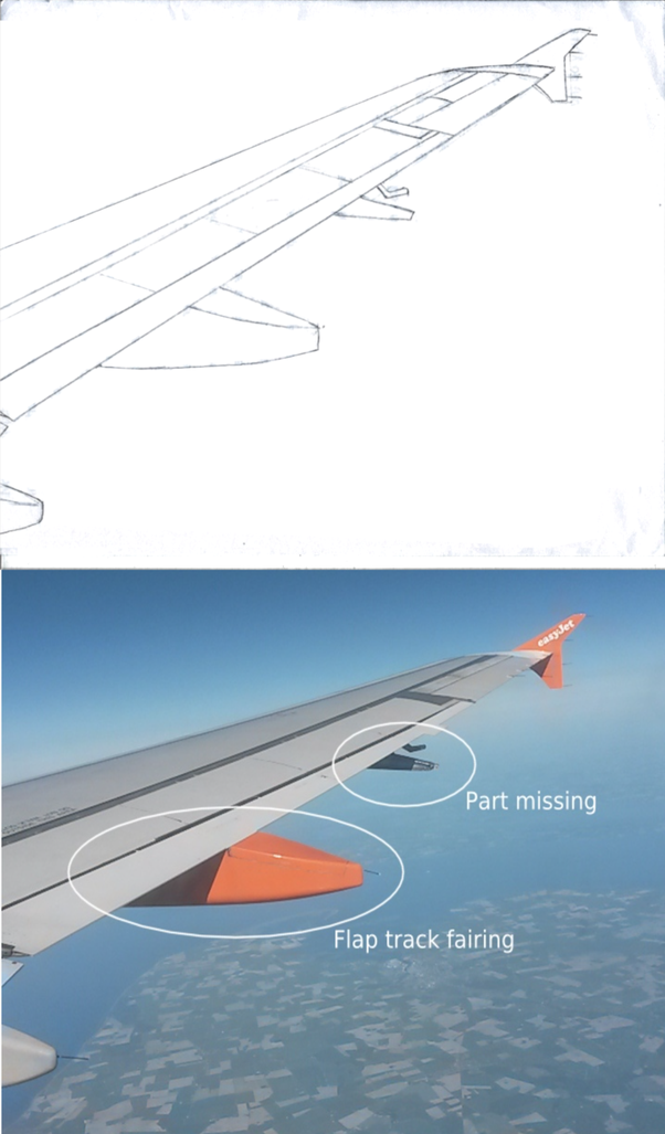 What are these projected things on an aircraft wings? - Quora